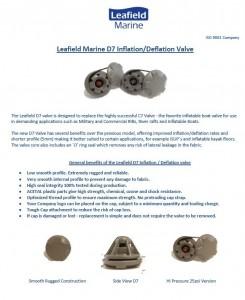 Leafield D7 info