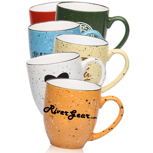 customized speckled bistro coffee mug coffee mugs customized