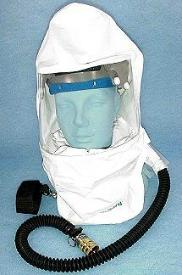 Fresh Air Respirator Air Supplied Tyvek Painting Hood Only Fresh