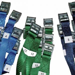 Cam Buckle Straps with PolyPro Webbing by The Summit