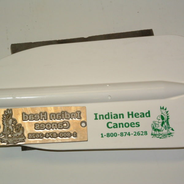 Indian Head Canoe Plate