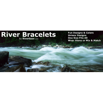 2017 River Bracelets Ocoee River Moving Water Small
